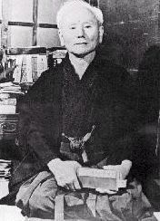Gichin Funakoshi, the consolidator of modern Karate